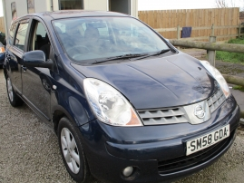 2008 - NISSAN NOTE ACENTA - ONLY 69,000 MILES - SERVICE HISTORY - AWAITING PREPERATION