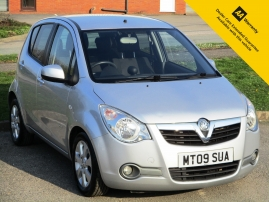 2009 - VAUXHALL AGILA DESIGN 5DR - 76,000 MILES - SERVICE HISTORY - DRIVE  AWAY TODAY