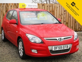 2010 - HYUNDAI i30 ES 5DR - ONE OWNER FROM NEW - 81,000 MILES - LEATHER INTERIOR
