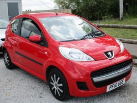 2010 - PEUGEOT 107 URBAN 3DR - ONLY 51,000 MILES - LOW TAX - LOW INSURANCE - AWAITING PREPERATION