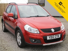 2012 - SUZUKI SX4 SZ4 5DR - ONLY 55,000 MILES - SERVICE HISTORY - 4 NEW TYRES