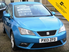2013 - SEAT IBIZA TOCA 3DR - ONLY 53,000 MILES - FULL SERVICE HISTORY
