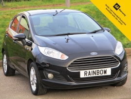2014 - FORD FIESTA 1.2 ZETEC 5DR - ONLY 58,000 MILES - SERVICE HISTORY - CITY PACK