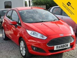 2016 - FORD FIESTA TITANIUM 5DR - AUTOMATIC - ONLY 3,000 MILES FROM NEW - ONE OWNER - HISTORY