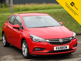 2017 - VAUXHALL ASTRA 1.4 SRI 5DR - AUTOMATIC - ONE OWNER - ONLY 13,000 MILES - £300 OFF