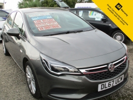 2017 - ASTRA TECHLINE NAV CDTI 5DR - ONLY 37,000 MILES - ONE OWNER - SERVICE HISTORY