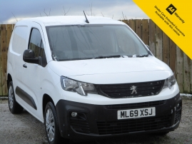 2019 - PEUGEOT PARTNER 1.6 BLUE HDI PROFESSIONAL VAN - ONE OWNER - 18,000 MILES - 3 SEATS
